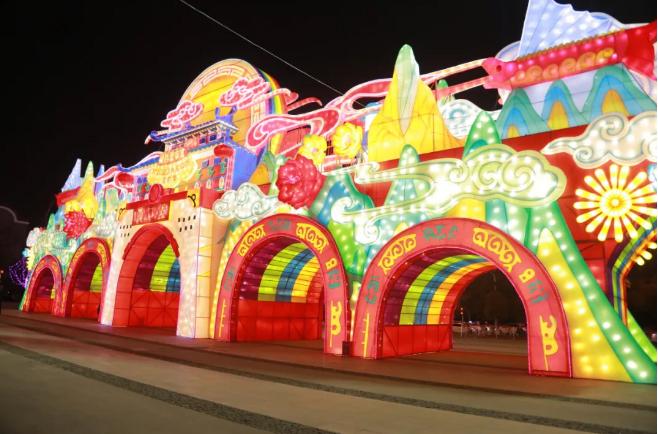 VR看2021年第六届武汉园博园灯会2